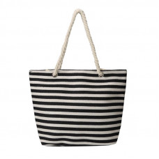 BAGK208 STRIPEY BEACH BAG